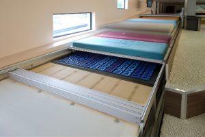 Matrassen en bodems op de matrassenscan.